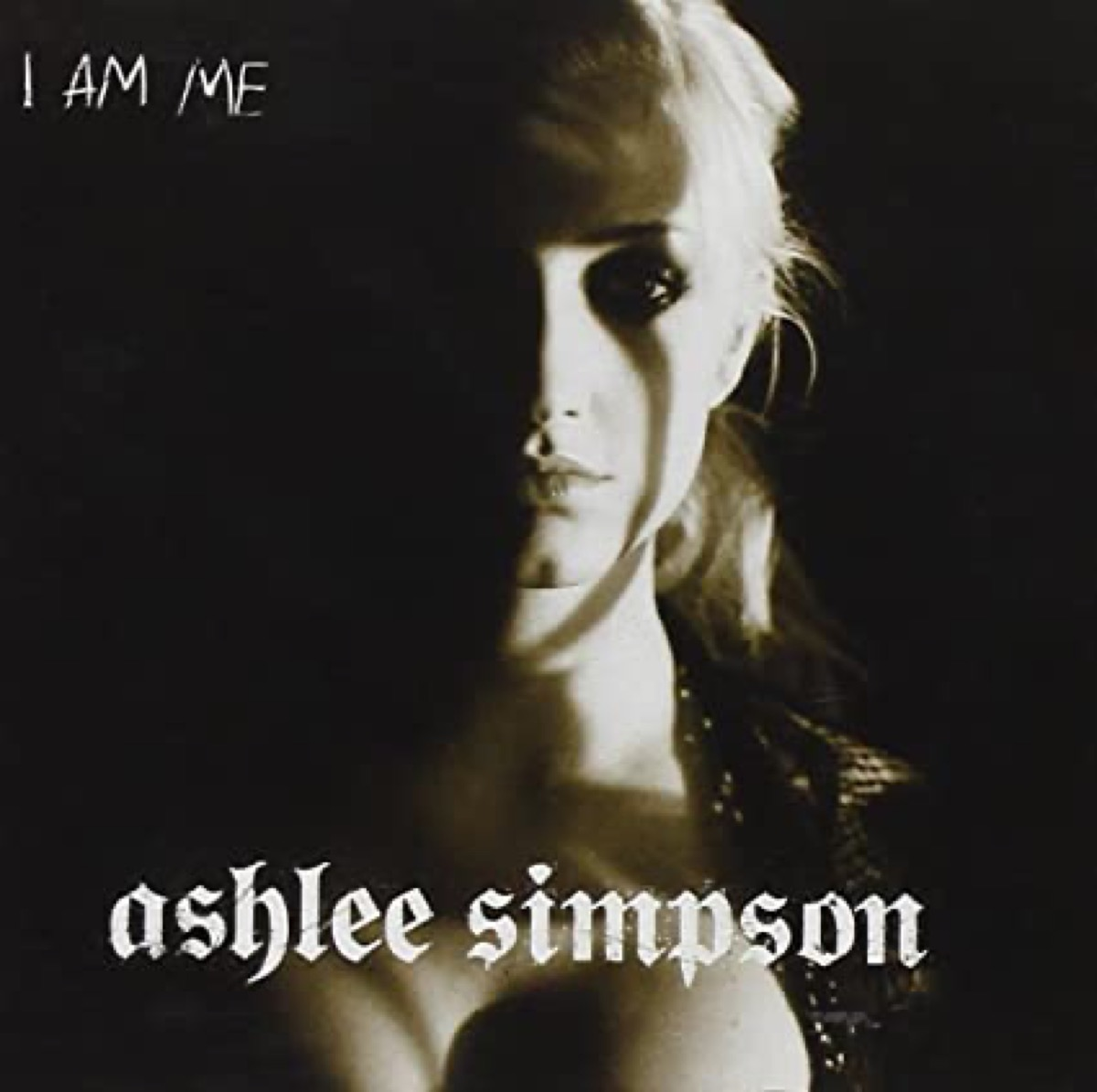 """The album cover of """"I Am Me"""" by Ashlee Simpson"""