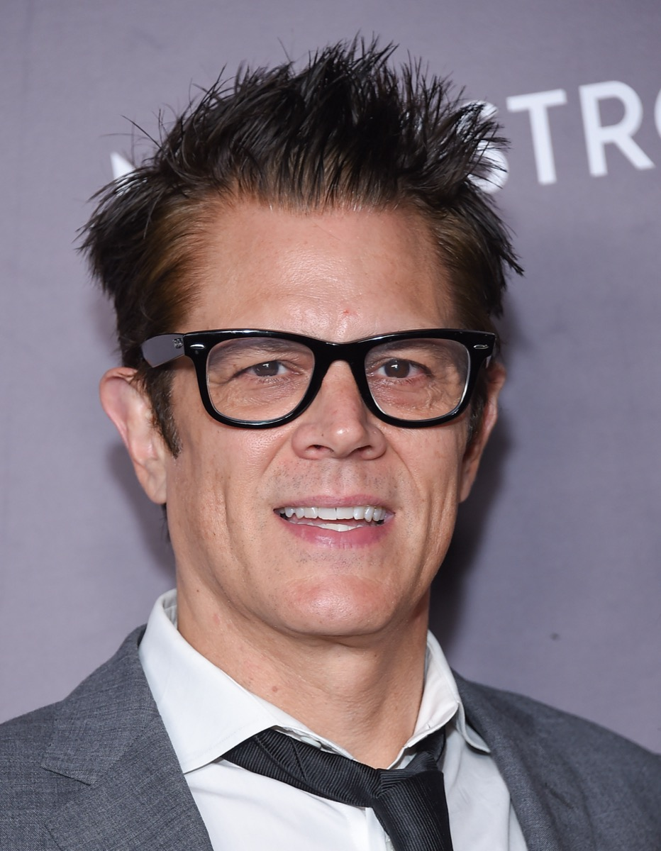 Johnny Knoxville at Baby2Baby Gala