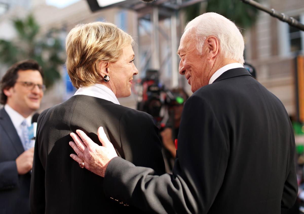 Julie Andrews and Christopher Plumer