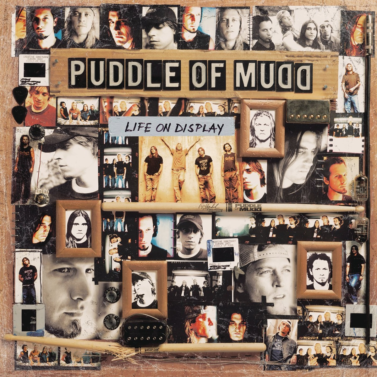 """The album cover of """"Life On Display"""" by Puddle of Mudd"""