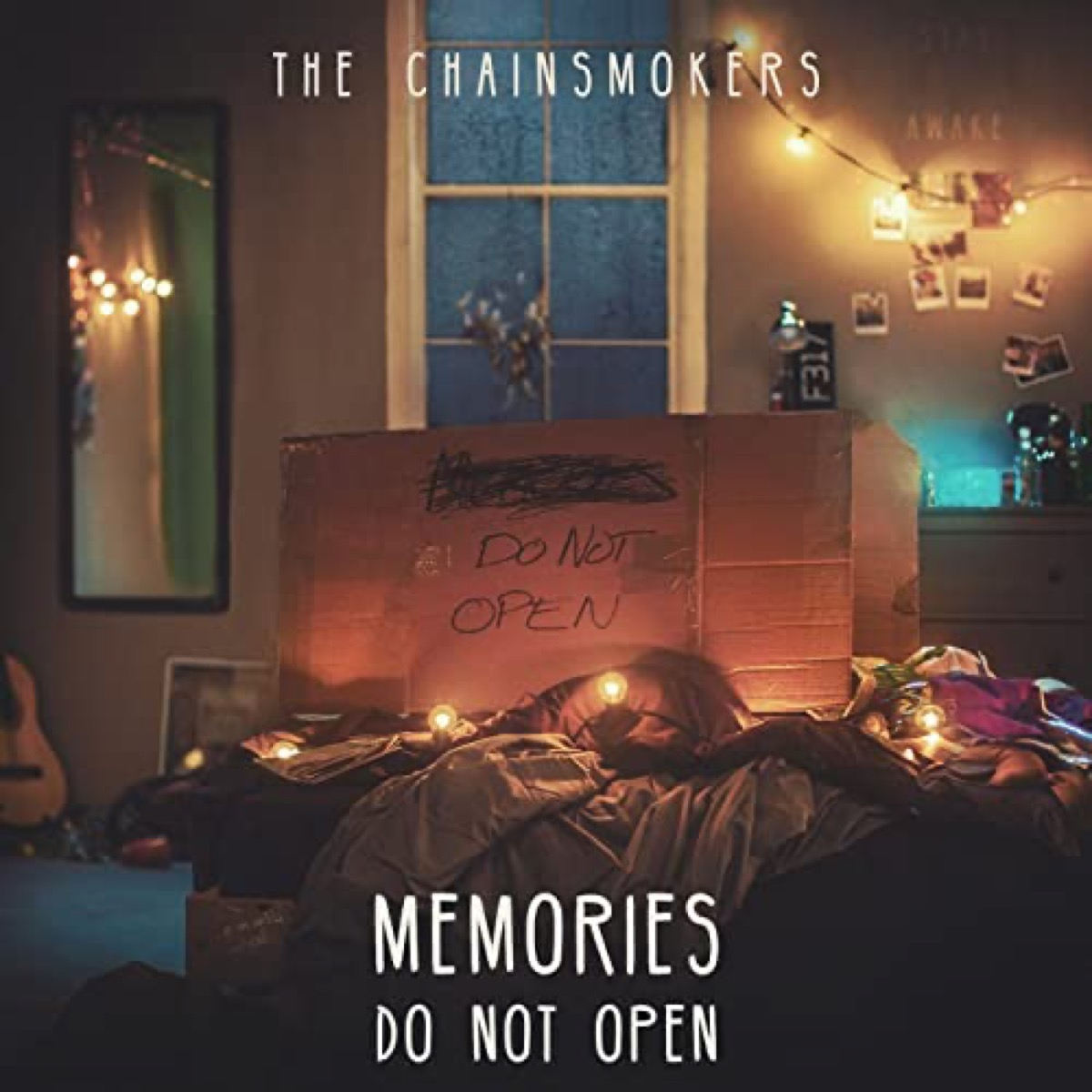 """The album cover of """"Memories...Do Not Open"""" by The Chainsmokers"""