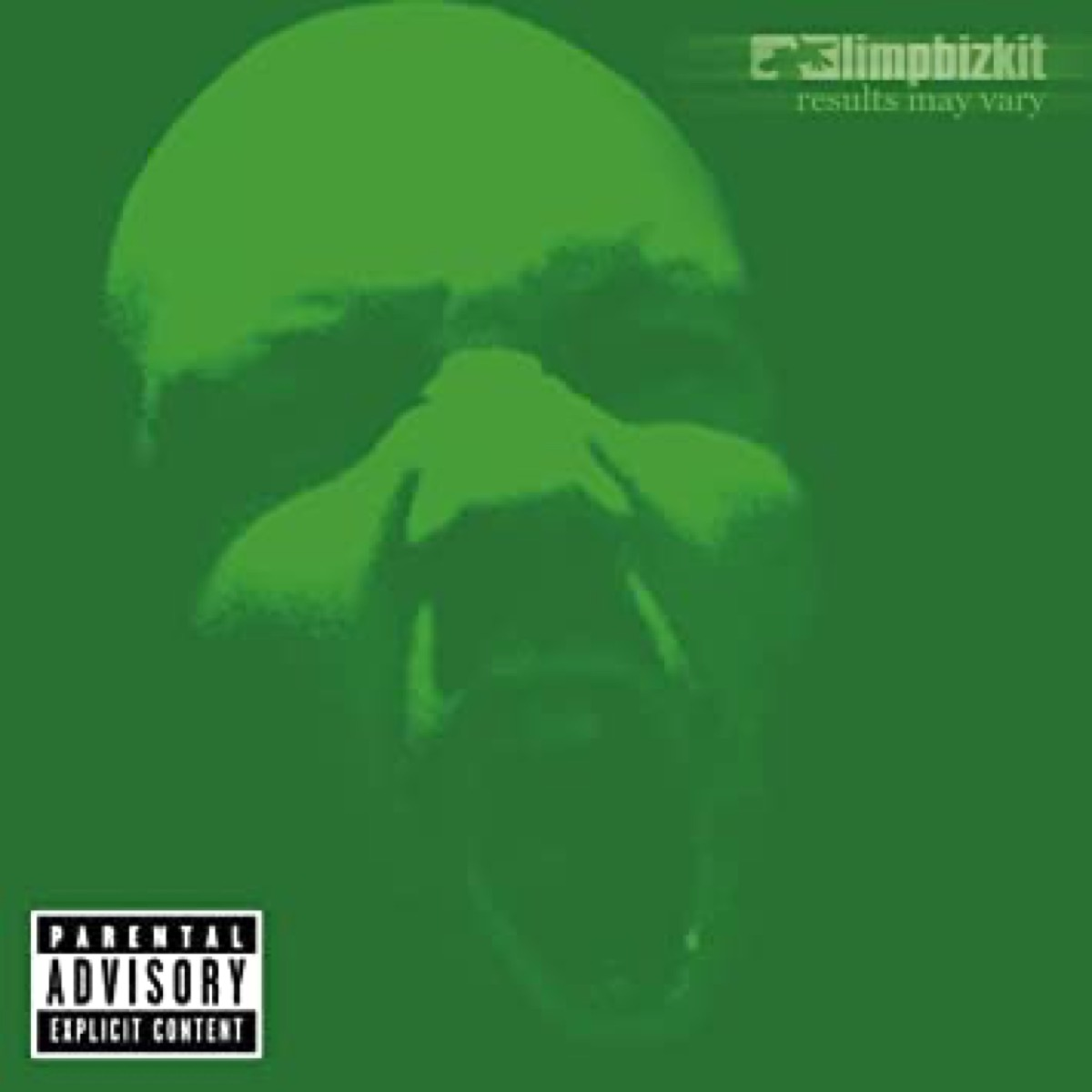 """The album cover of """"Results May Vary"""" by Limp Bizkit"""