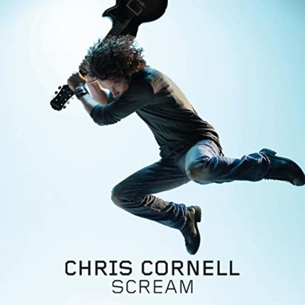 "The album cover of ""Scream"" by Chris Cornell"