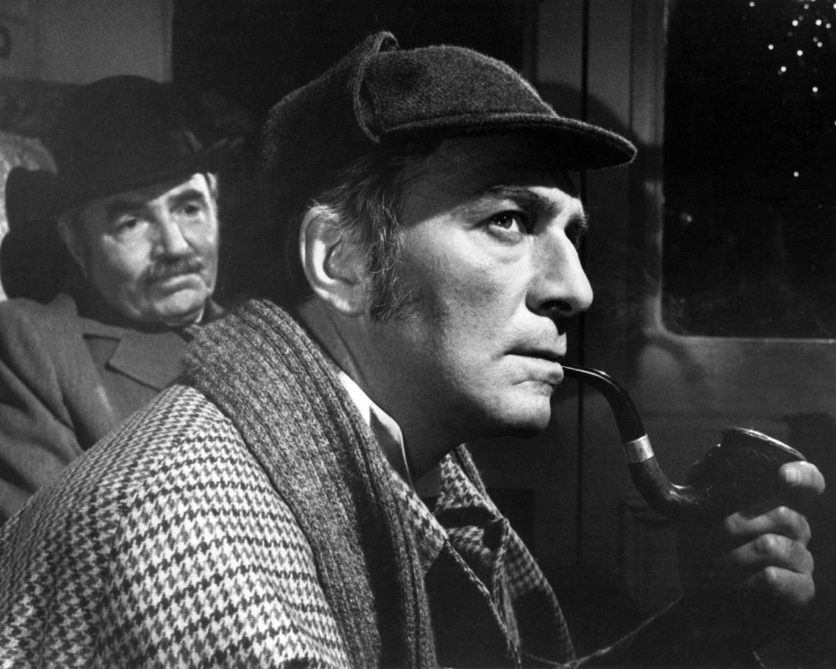 Christopher Plummer as Sherlock Holmes