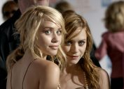 mary-kate and ashley olsen on the red carpet in 2004