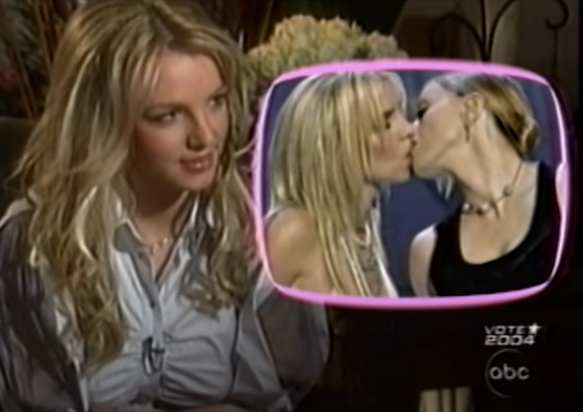 Britney talks about kiss with Madonna with Diane Sawyer