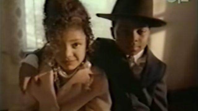 """Tessa Thompson in """"Stop Runnin Away"""" video"""