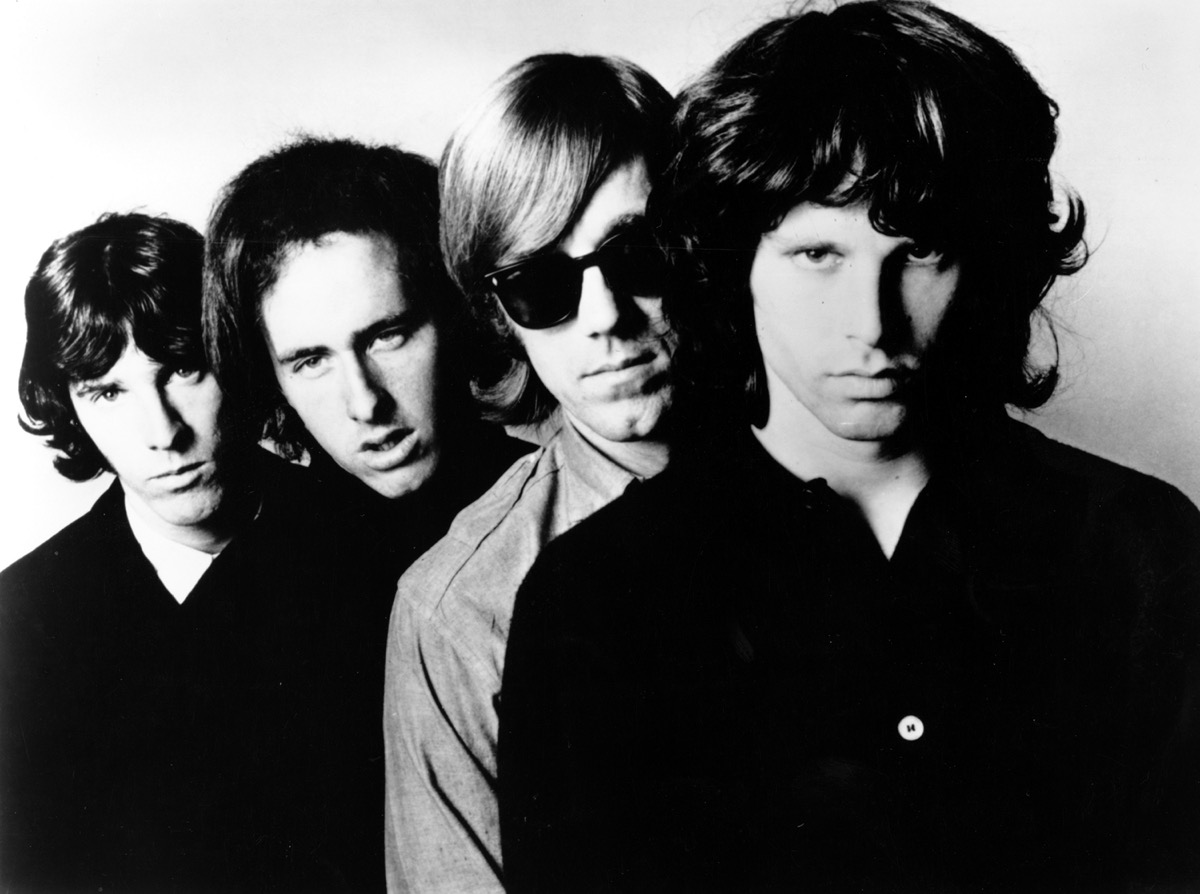 Photo of The Doors band in 1970