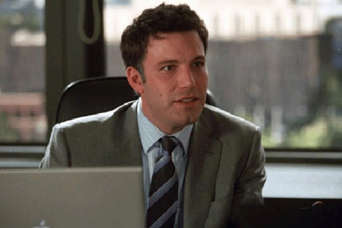 ben affleck in man about town