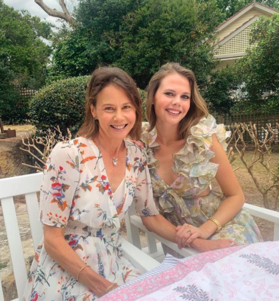 Antonia Kidman and Lucia Hawley