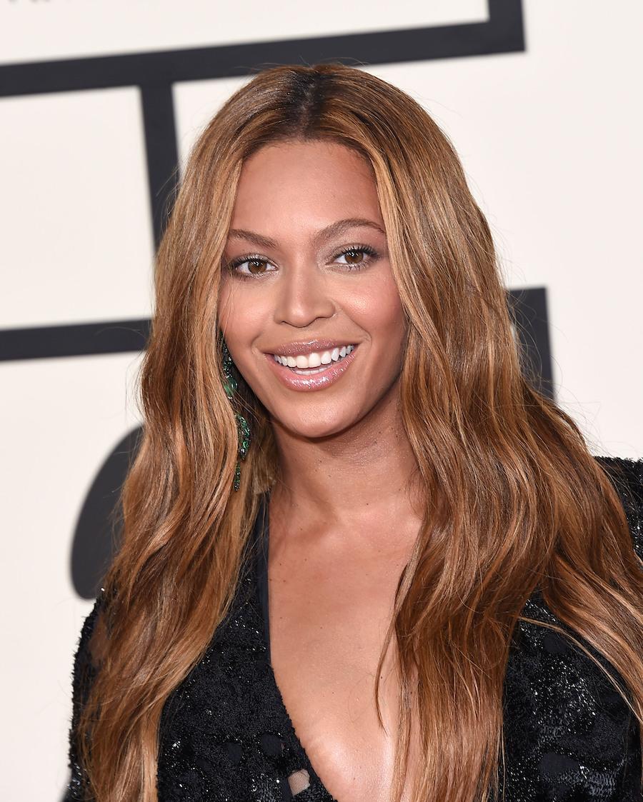 Beyoncé at the 2015 Grammy Awards