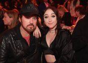 Billy Ray and Noah Cyrus at the 2017 MTV Movie & TV Awards