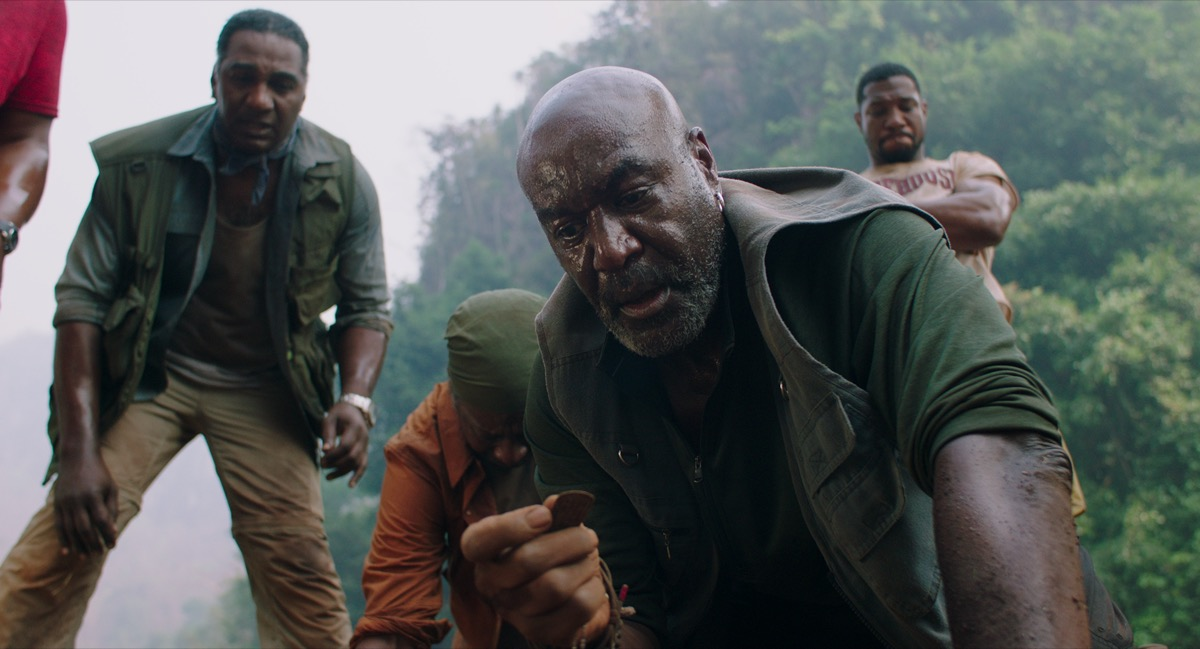 Norm Lewis, Clarke Peters, Jonathan Major, and Delroy Lindo in Da 5 Bloods