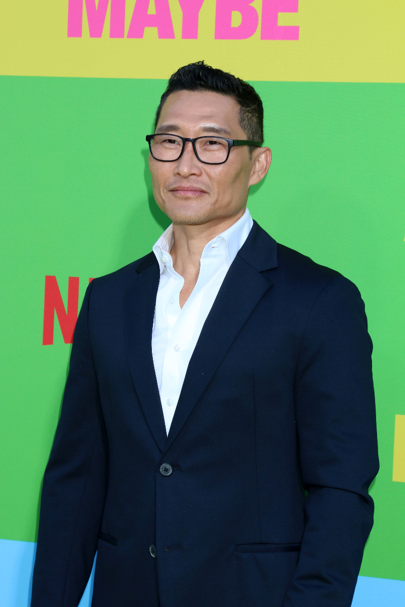 """Daniel Dae Kim at the """"Always Be My Maybe"""" premiere in 2019"""