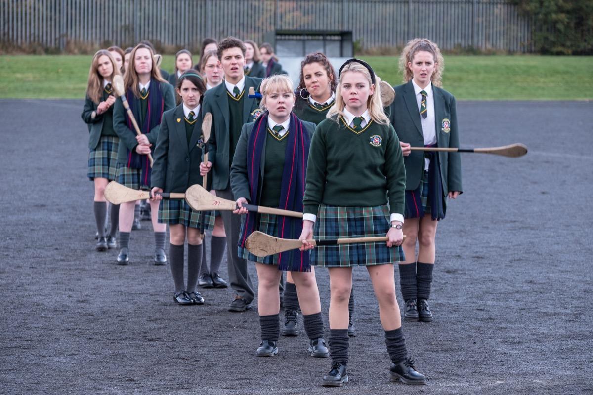 Still from Derry Girls