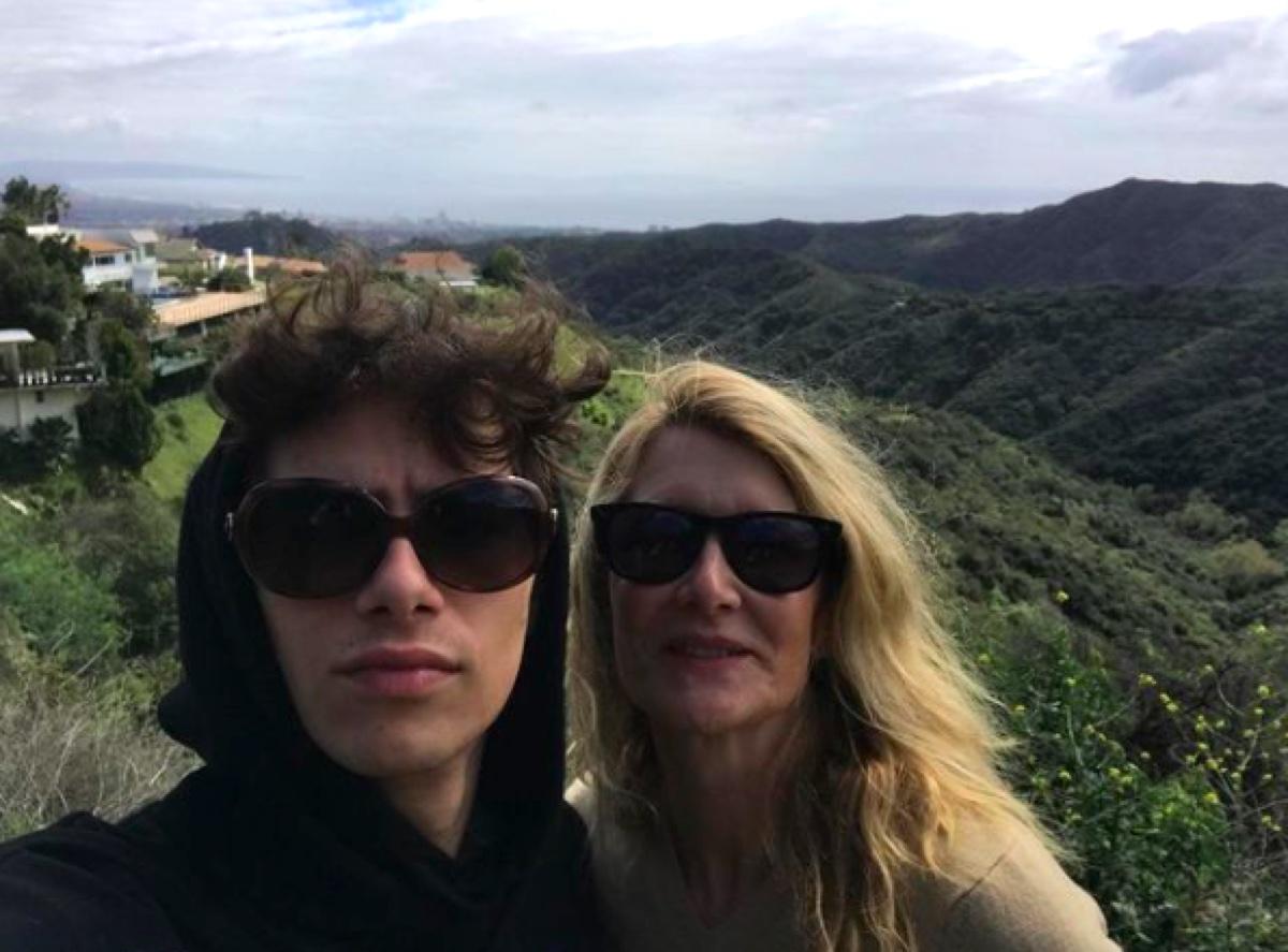 Ellery Harper and Laura Dern Instagram
