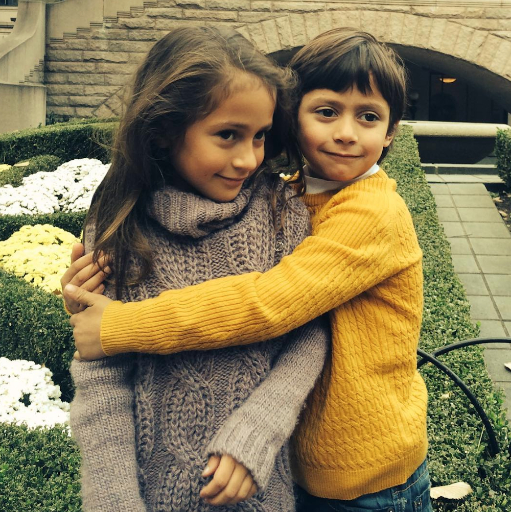 Jennifer Lopez and Marc Anthony's children Emme and Max