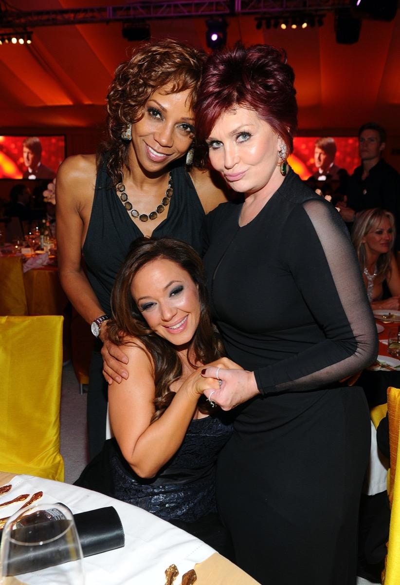Holly Robinson Peete, Leah Remini, and Sharon Osbourne