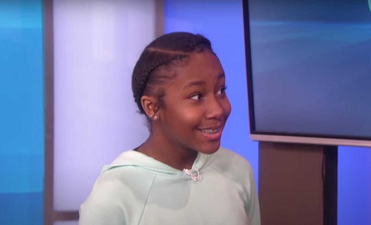 "Jalaiah Harmon on ""The Ellen DeGeneres Show"""