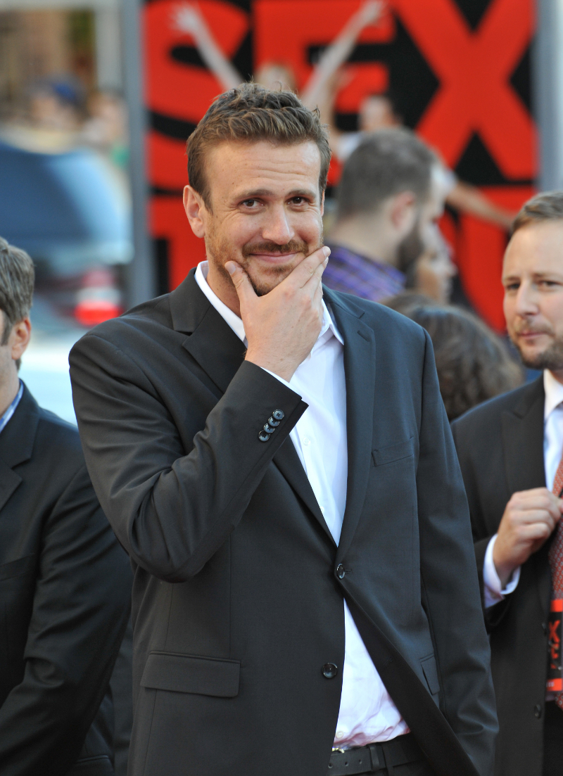 """Jason Segel at the premiere of """"Sex Tape"""" in 2014"""