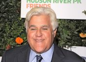 Jay Leno at the 20th Anniversary Gala to Celebrate Hudson River Park in 2018