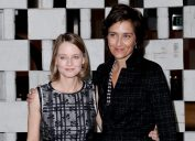 Jodie Foster and Alexandra Hedison at the Hammer Museum's 14th annual Gala In The Garden in 2016