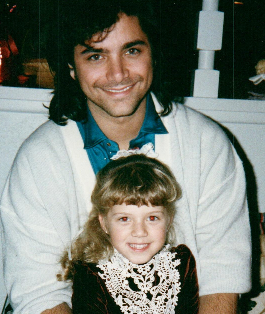 John Stamos and Jodie Sweetin in an old photo