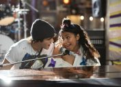 Charlie Gillespie and Madison Reyes in Julie and the Phantoms