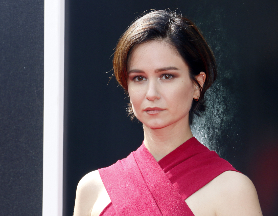"""Katherine Waterston at a screening of """"Alien: Covenant"""" in 2017"""