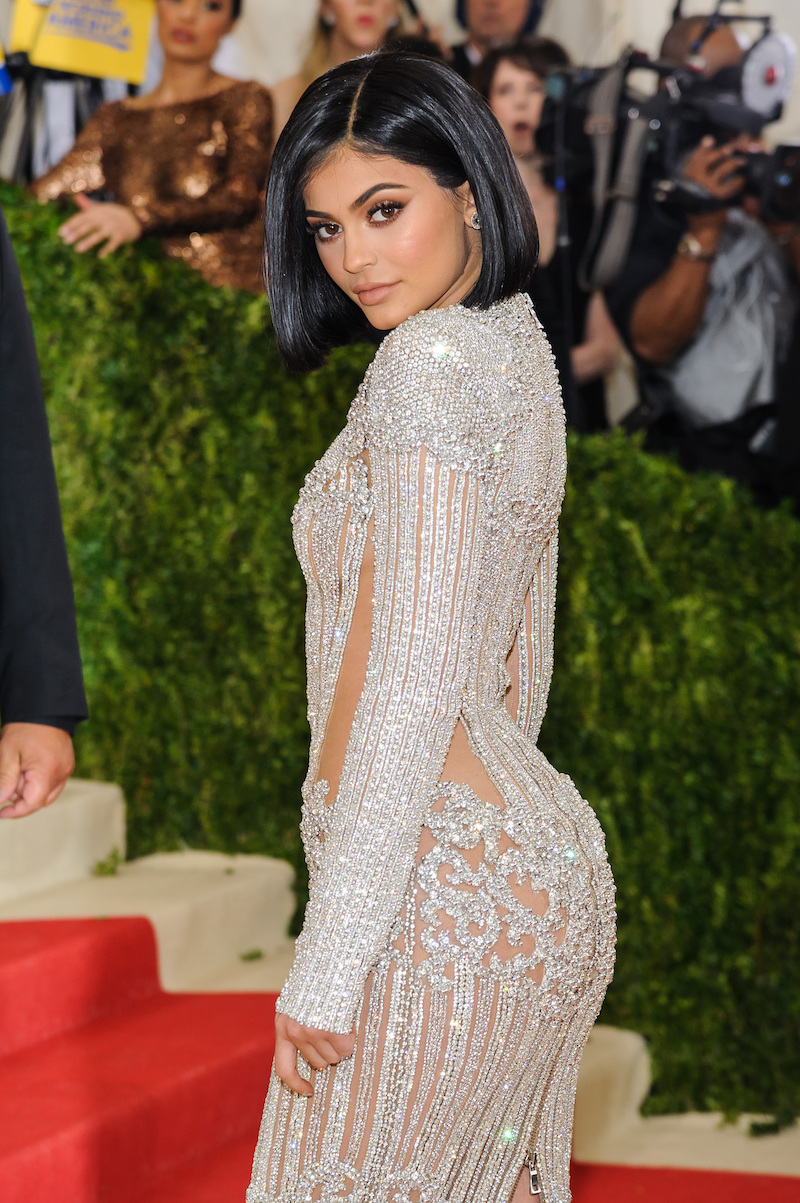 Kylie Jenner at the Met Gala in 2016