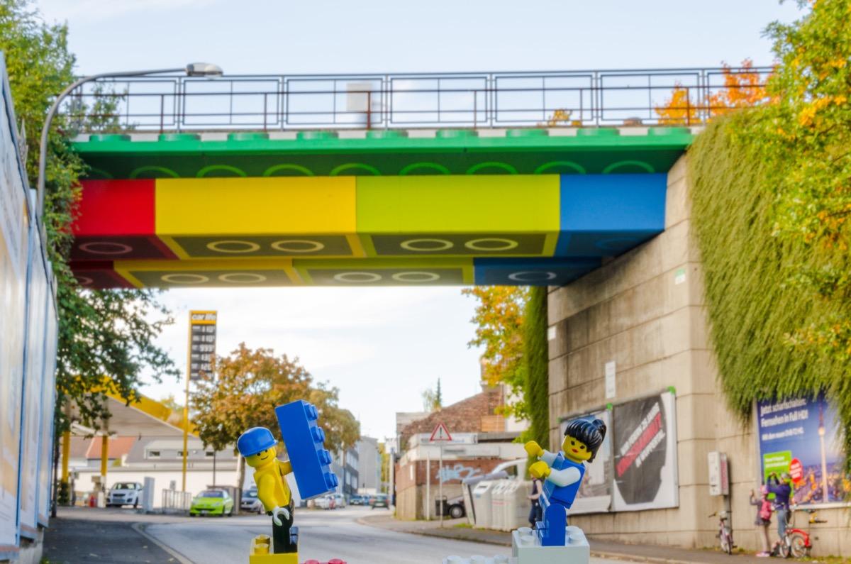 Lego-Brücke in Germany
