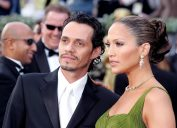 Marc Anthony and Jennifer Lopez at the 2006 Oscars