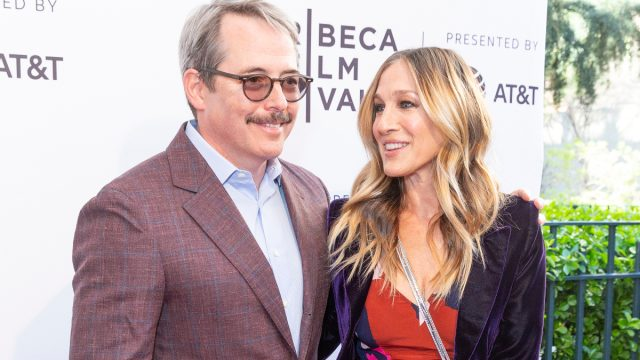 Matthew Broderick and Sarah Jessica Parker at the 2018 Tribeca Film Festival