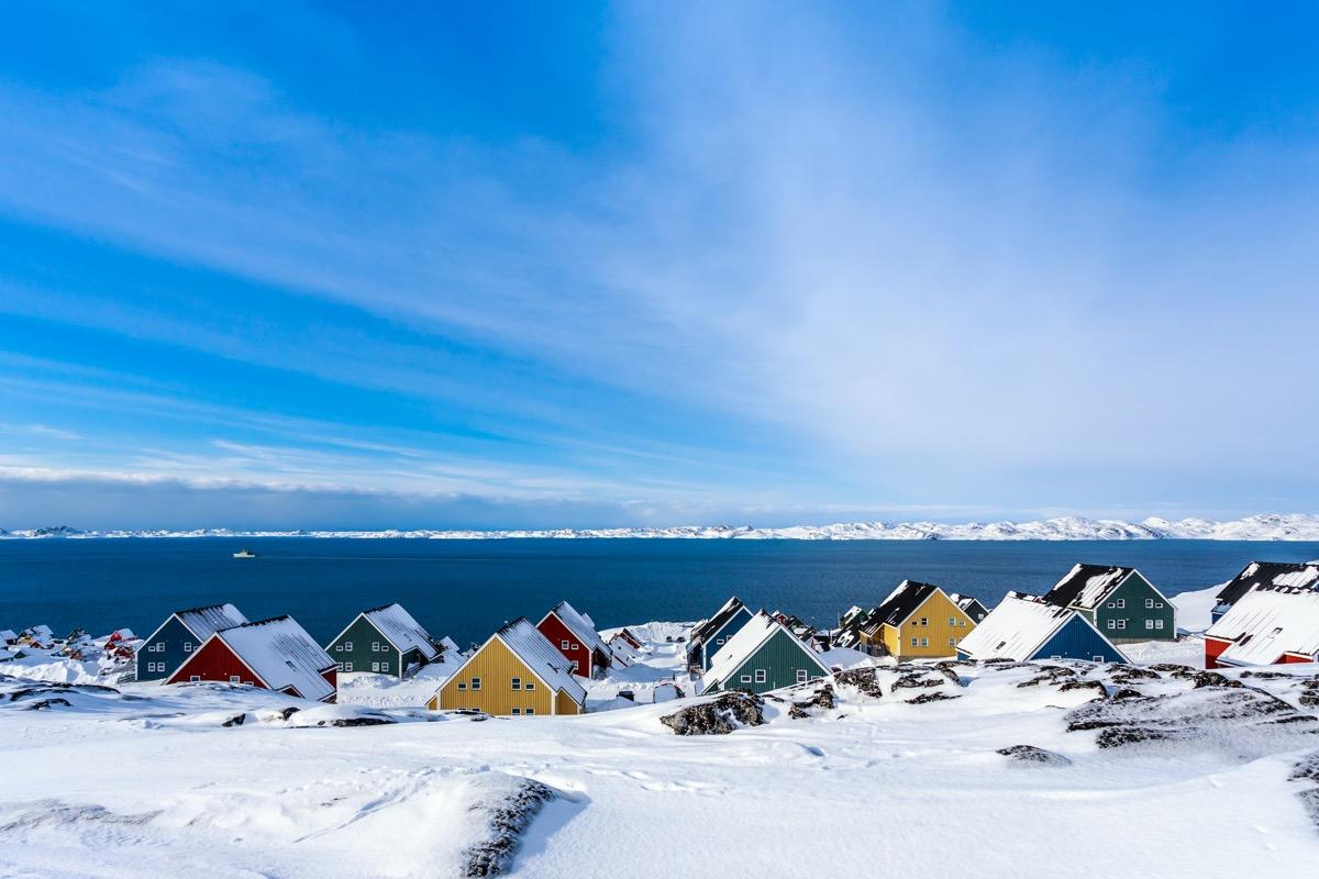 Nuuk City, Greenland