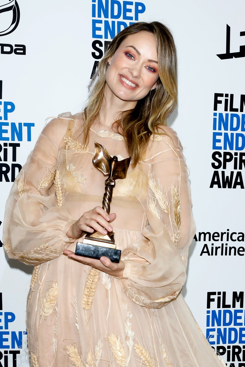 Olivia Wilde at the Independent Spirit Awards in 2020