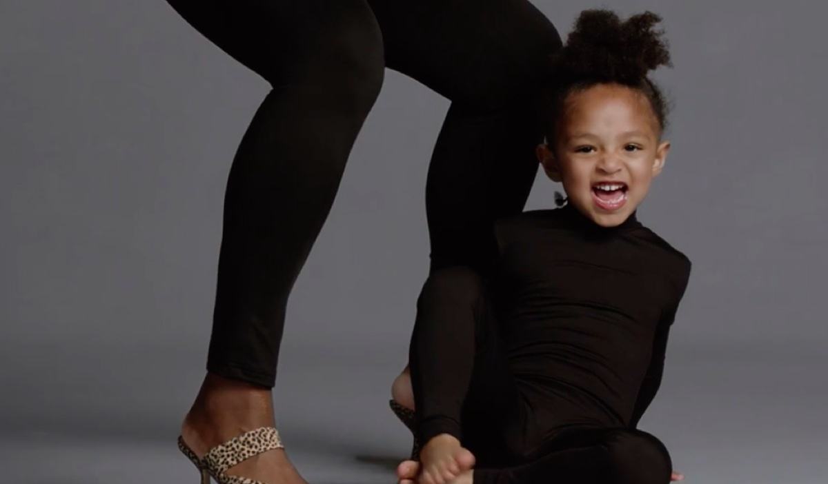 Olympia Ohanian in Stuart Weitzman campaign