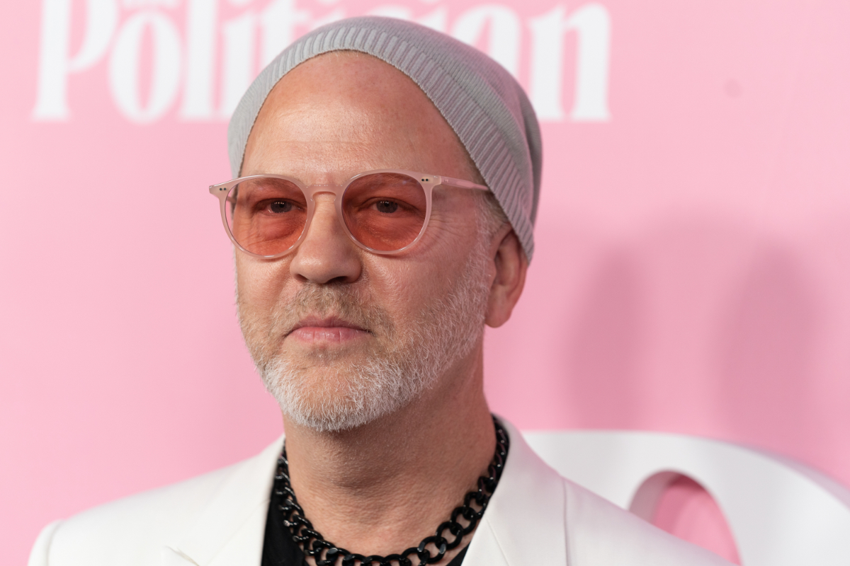 """Ryan Murphy at the premiere of """"The Politician"""" in 2019"""