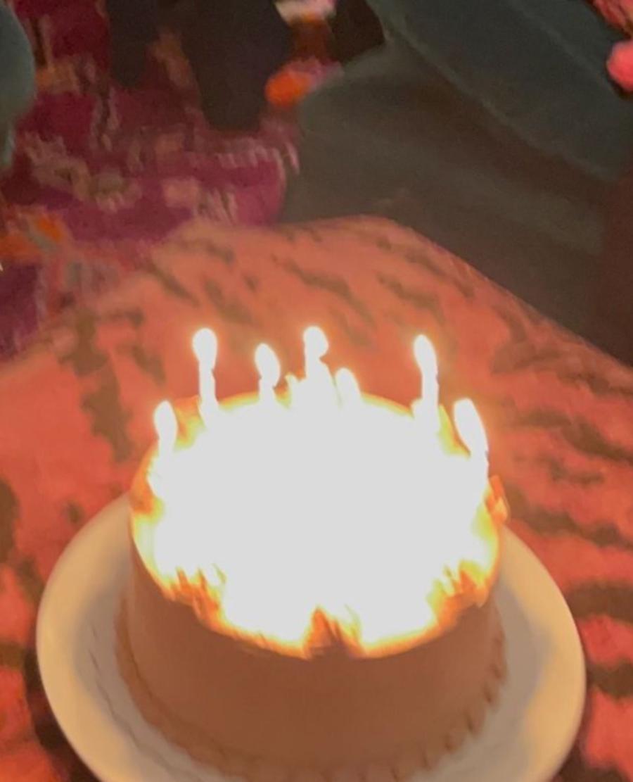 Matthew Broderick's birthday cake