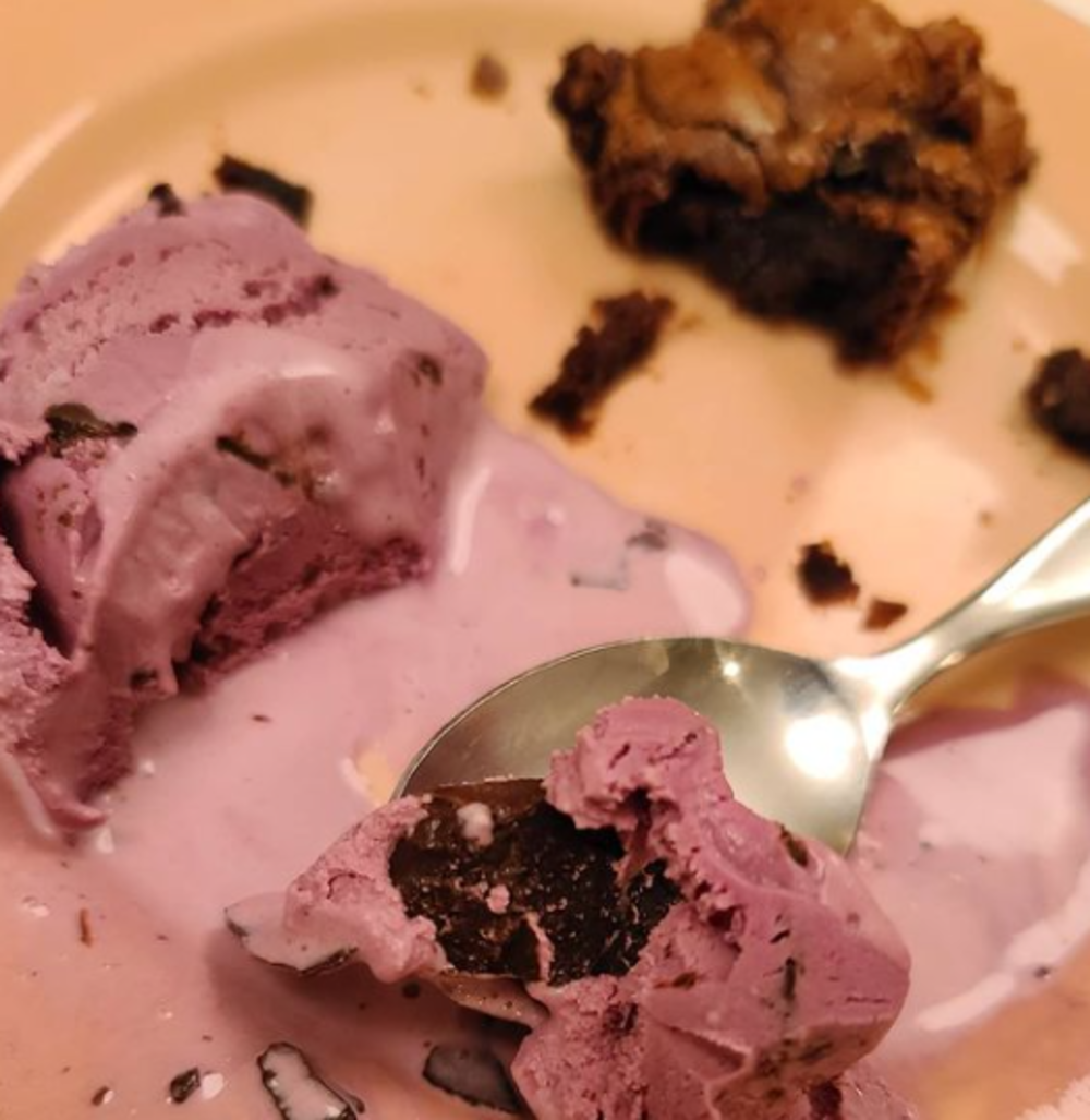A photo of ice cream Sarah Jessica Parker shared after her birthday in 2020