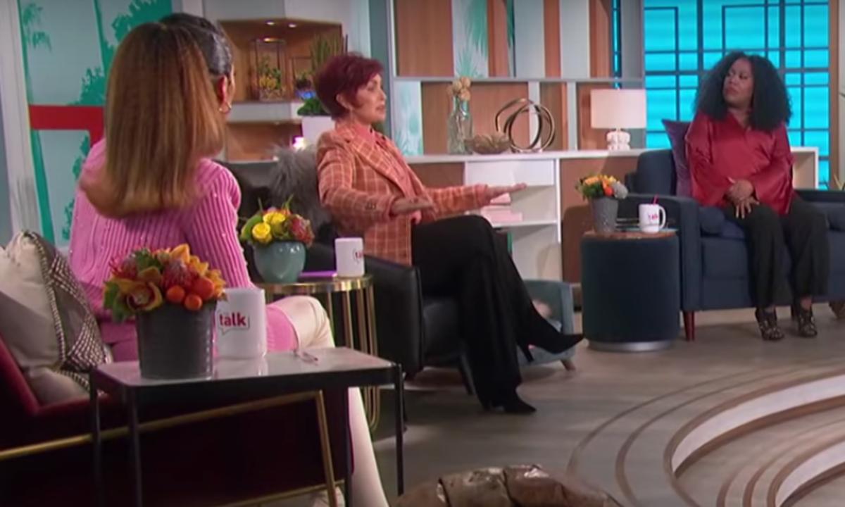 "Sharon Osbourne and Sheryl Underwood on ""The Talk"""