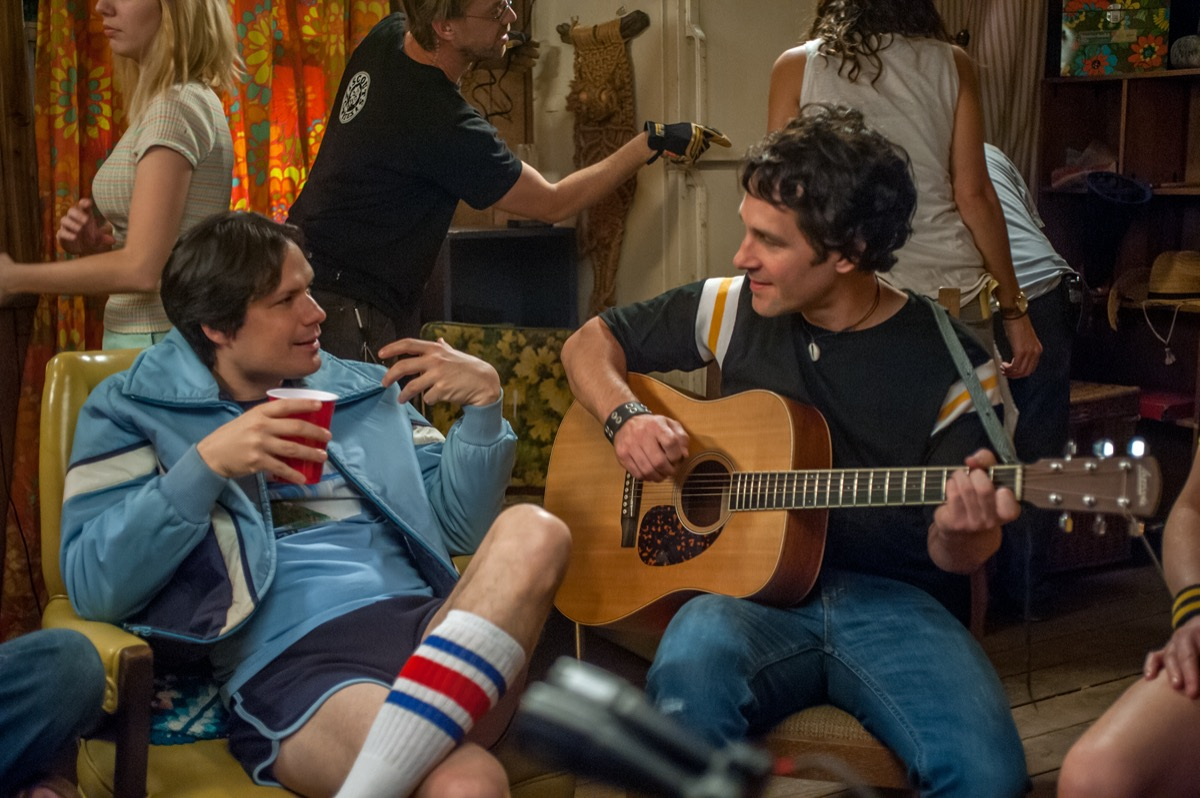 Michael Ian Black and Paul Rudd in Wet Hot American Summer: First Day at Camp