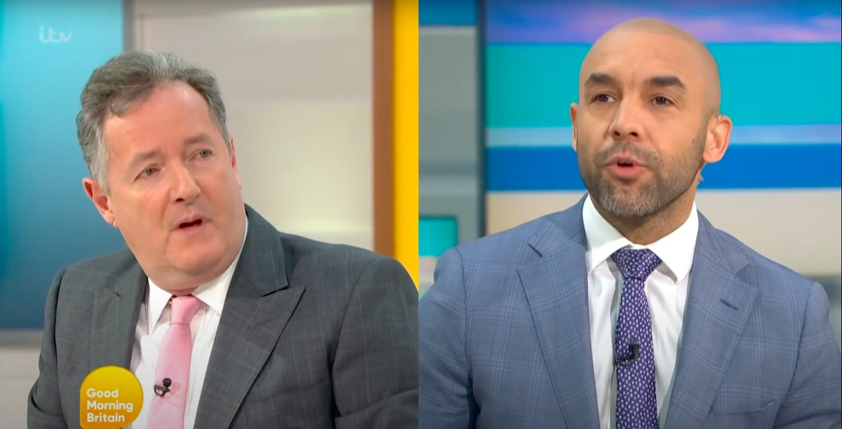 Piers Morgan argues with Alex on Good Morning Britain