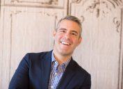 """Andy Cohen at the AOL Build Series: """"Watch What Happens Live"""" in 2015"""