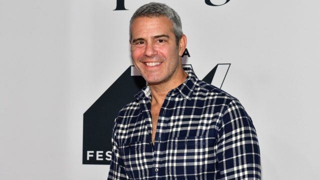 andy cohen on red carpet
