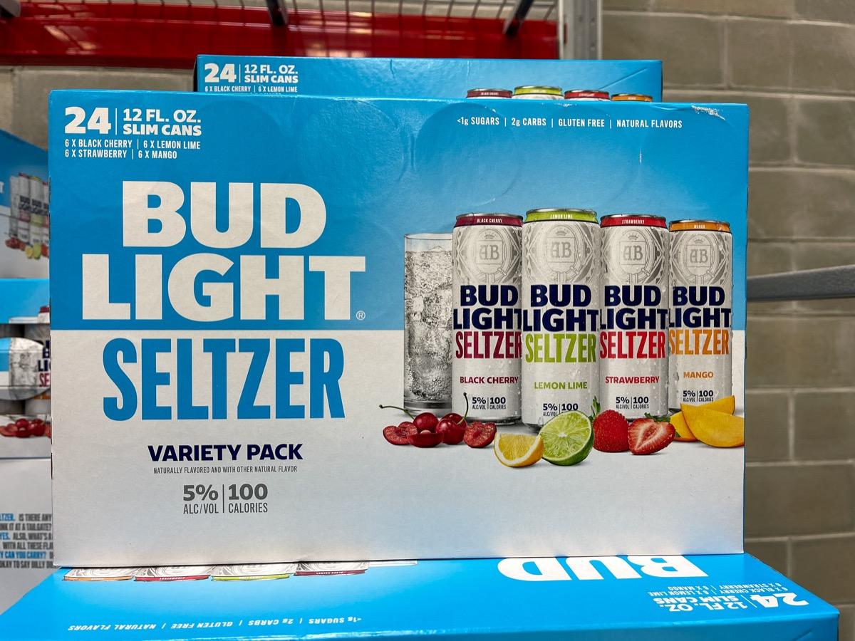 A pack of Bud Light Seltzer