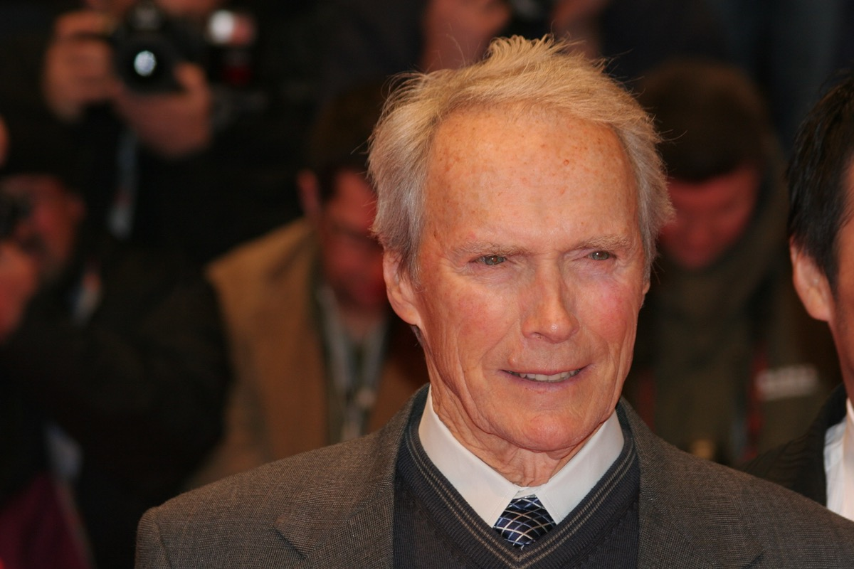 """Clint Eastwood at the premiere of """"Letter From Iwo Jima"""" in 2007"""