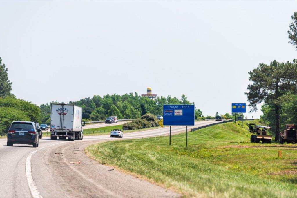 highway in Dillon, South Carolina