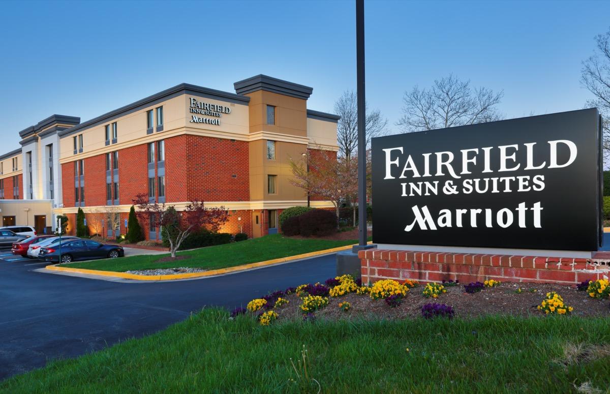 Fairfield Inn and Suites Marriott in Herndon, Virginia
