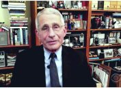 """Dr. Fauci talks to Stephen Colbert on """"The Late Show"""" on Mar. 12 about what's safe and what's not for fully vaccinated people"""