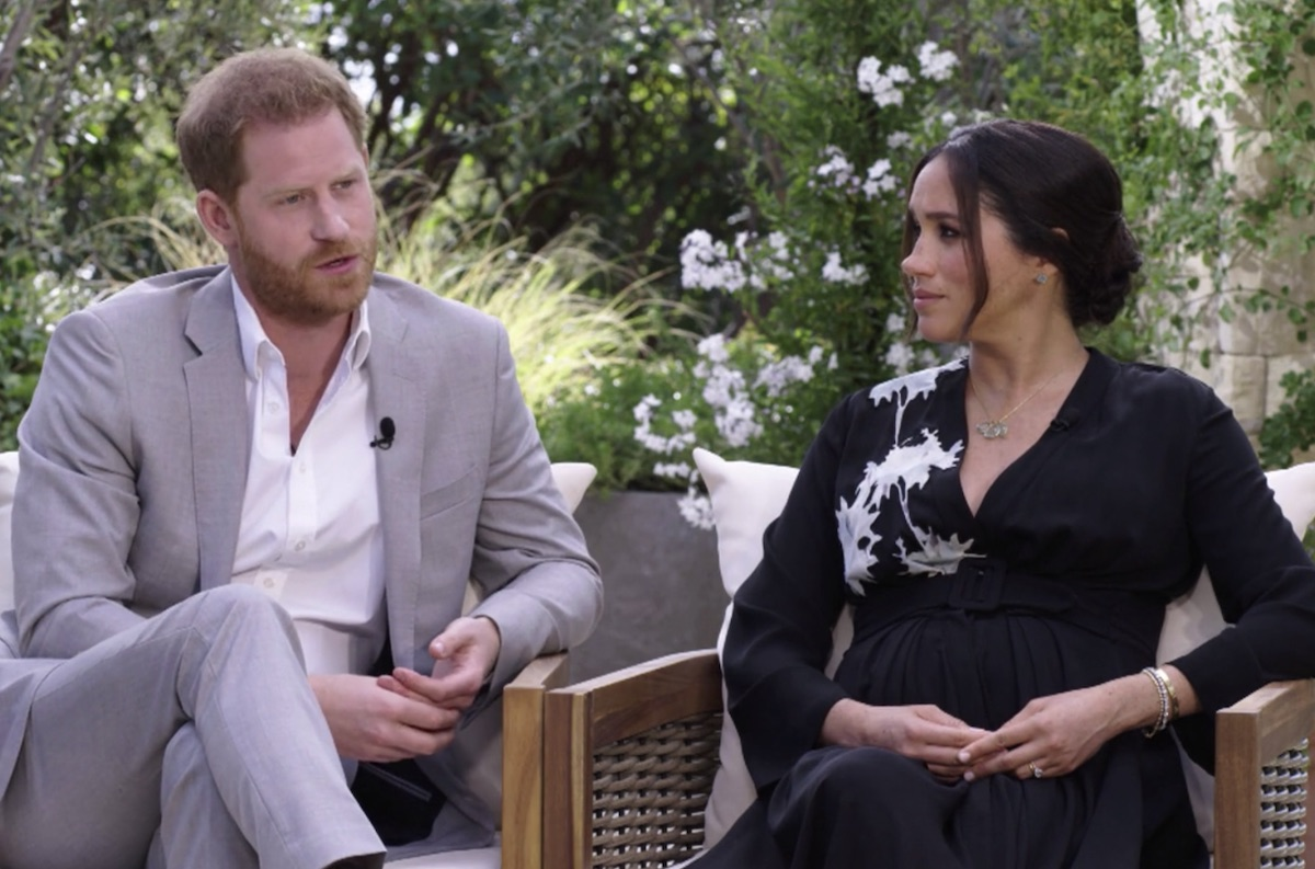 Harry and Meghan discuss why they left royal life with Oprah Winfrey